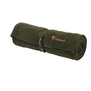 Pinewood 9108 Comfy Fleecedecke 150x100cm jagdgrün