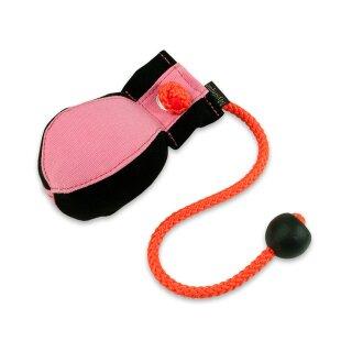 Mystique Dummy Ball Marking 150g schwarz / pink