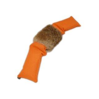 Mystique Dummy 3-teilig orange mit Kaninchenfell 3,0kg
