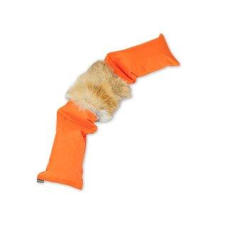 Mystique Dummy 3-teilig orange mit Fuchsfell 4,0kg