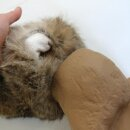 Mystique Bunny Dummy Kaninchendummy mit Kaninchenfell klein 750g