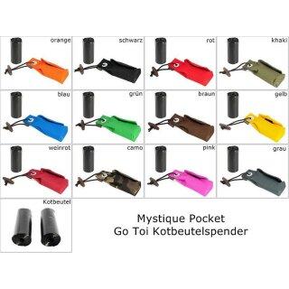 Mystique Pocket Go Toi + 1 Rolle Kotbeutel (20 Stk)