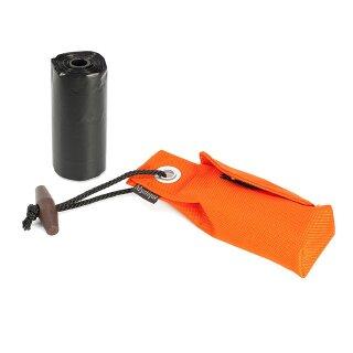 Mystique Pocket Go Toi + 1 Rolle Kotbeutel (20 Stk) orange