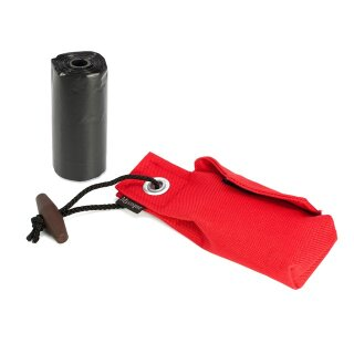 Mystique Pocket Go Toi + 1 Rolle Kotbeutel (20 Stk) rot