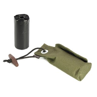 Mystique Pocket Go Toi + 1 Rolle Kotbeutel (20 Stk) khaki