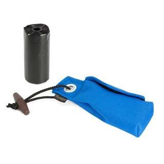 Mystique Pocket Go Toi + 1 Rolle Kotbeutel (20 Stk) blau