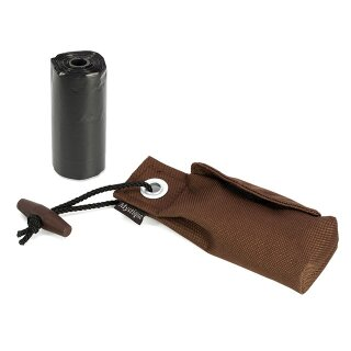 Mystique Pocket Go Toi + 1 Rolle Kotbeutel (20 Stk) braun