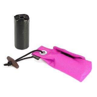 Mystique Pocket Go Toi + 1 Rolle Kotbeutel (20 Stk) pink