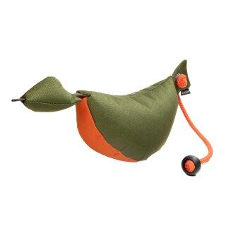 Mystique Bird Dog Dummy groß 350g khaki / orange