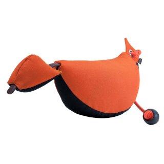 Mystique Bird Dog Dummy groß 350g schwarz / orange