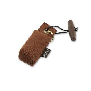 Mystique Mini Dummy Schlüsselanhänger Key Case braun