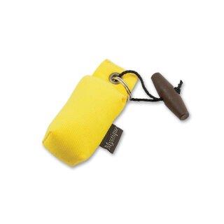Mystique Mini Dummy Schlüsselanhänger Key Case gelb