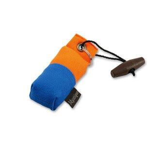 Mystique Mini Dummy Schlüsselanhänger Key Case blau/orange