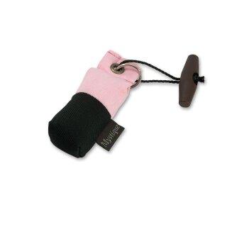 Mystique Mini Dummy Schlüsselanhänger Key Case pink/schwarz