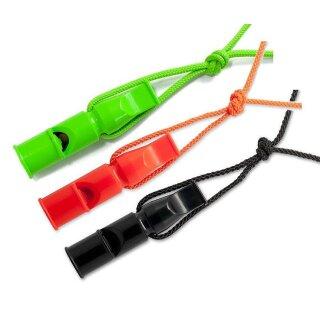 ACME Doppeltonpfeife Hundepfeife Pfeife mit Trill + Pfeifenband