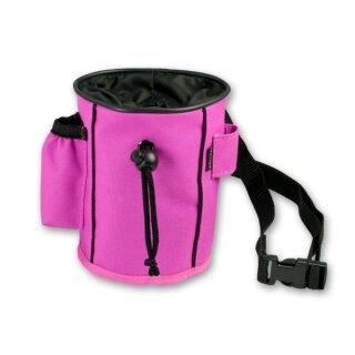 Mystique Leckerlietasche Snackbeutel pink